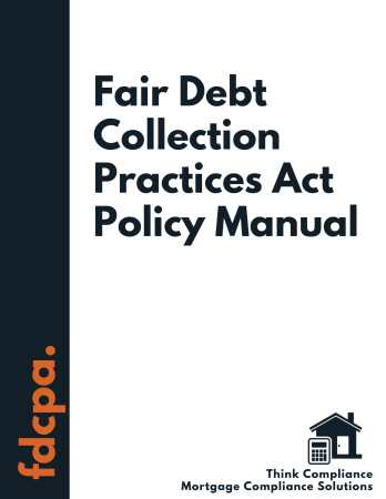 FDCPA Policy Manual