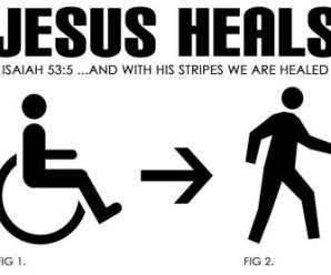 By His Stripes You Are Healed… Physically?