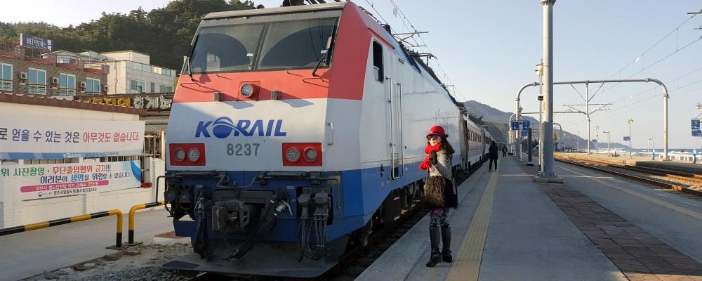 South Korea Round the Island - Day 3 - Mt Seorak and Jeongdongjin Railway