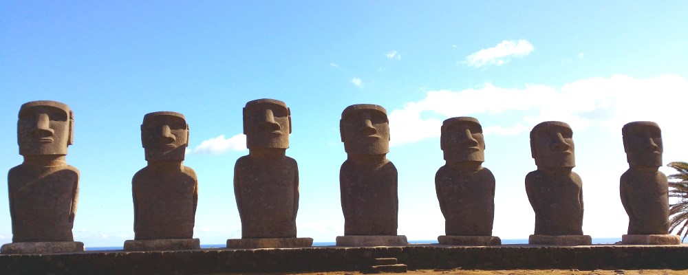 Japan Self Drive in Kyushu 3 - Miyazaki Prefecture : Is Miyazaki City not Easter Island!  Is winter but feel like tropical atmosphere in Miyazaki!