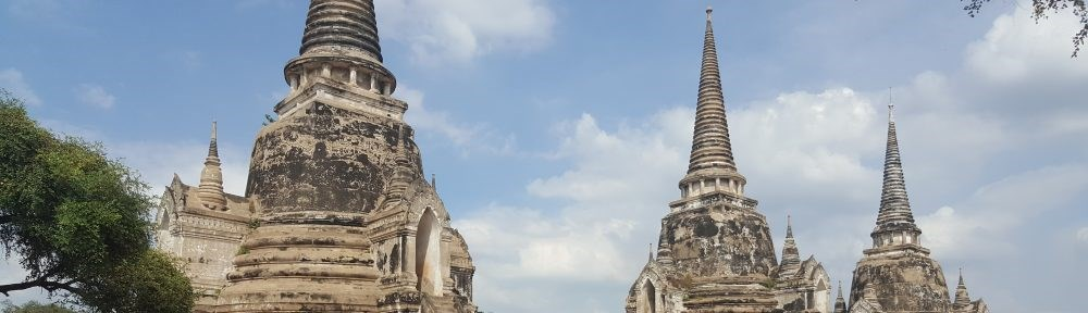 Thailand Self Drive - Day 1 - Ayutthaya Historical Park and Wat Mahathat