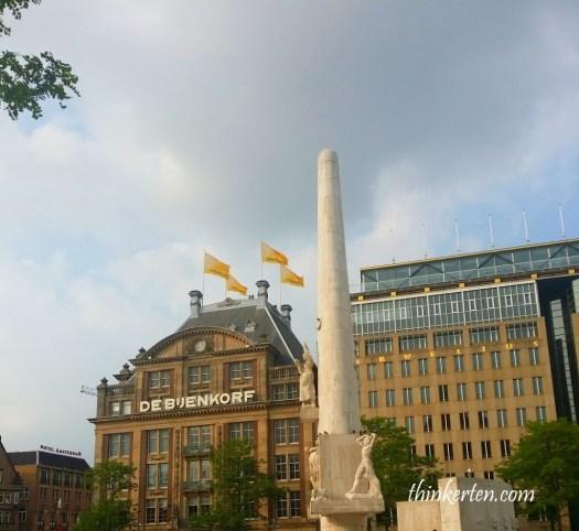 Amsterdam Dam Square Amsterdam Netherlands