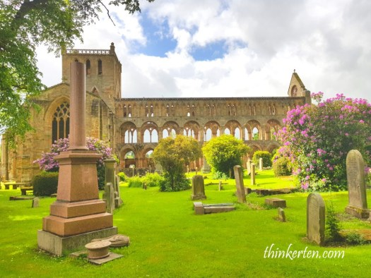 Jedburgh Abbey English Scottish Borders