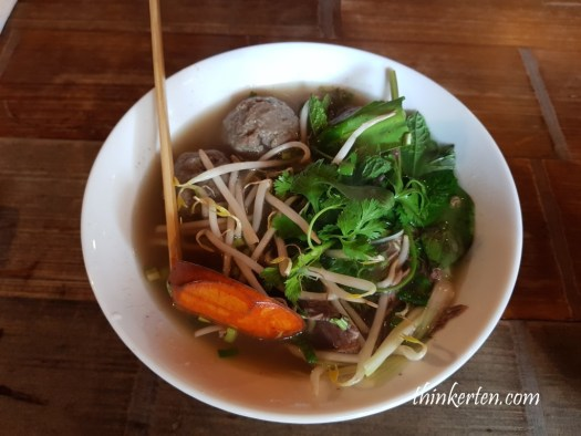 Vietnamese Pho at Cambridge UK