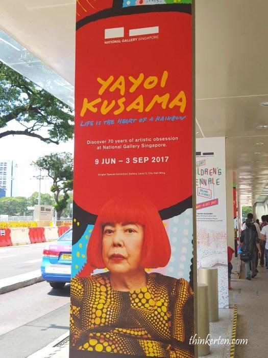 Yayoi Kusama - Life is the heart of a rainbow