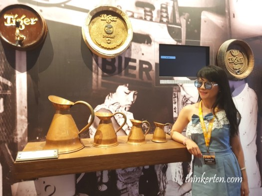 Mini Museum at Tiger Beer Factory Tour