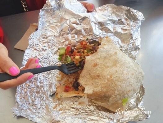 Chipotle Mexican Grill Burrito