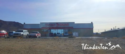 Family Dollar at Dolan Springs Arizona