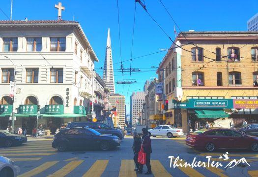 San Francisco China Town California