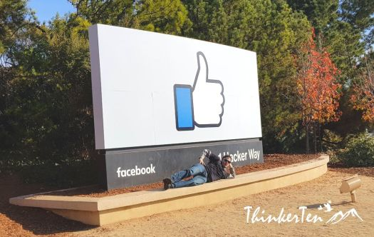 Check in at Facebook HQ @ Silicon Valley