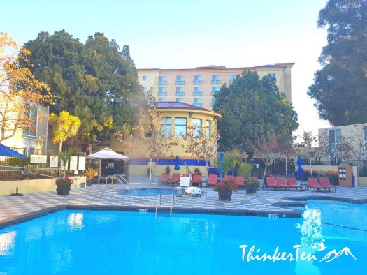 USA Hotel Review : Silicon Valley - Crowne Plaza Palo Alto, San Jose, California