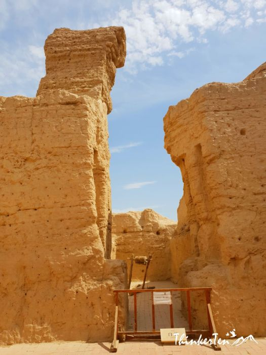 Silk Road China : World Largest Ruins - Xinjiang Lost Kingdom of Yar - Jiaohe / 交河故城