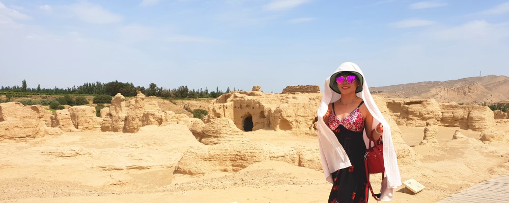 Silk Road China : World Largest Ruins in Xinjiang ! Lost Kingdom of Yar - Jiaohe / 交河故城