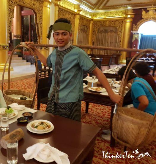 Myanmar : Dinner cum Cultural Show in Karaweik Palace Yangon