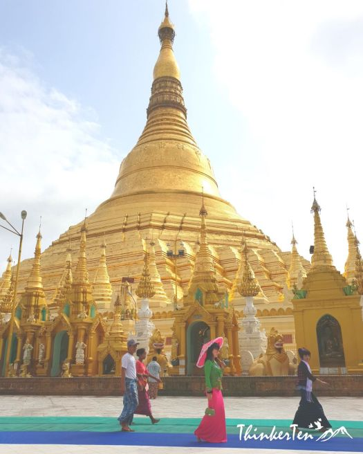 Myanmar Pride : Finding Treasure in Shwedagon Pagoda in Yangon. Things to know before you go!