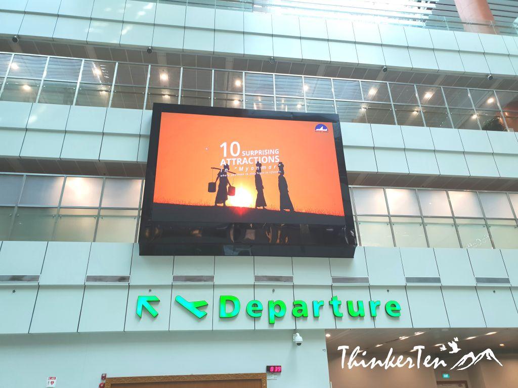 Myanmar Yangon International Airport Review Chic Explore Thinkerten