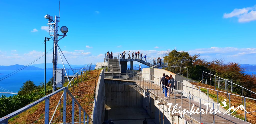 Japan Shikoku : The most spectacular view on the Shimanami Kaido @ Kirosan Observatory Park, Imabari