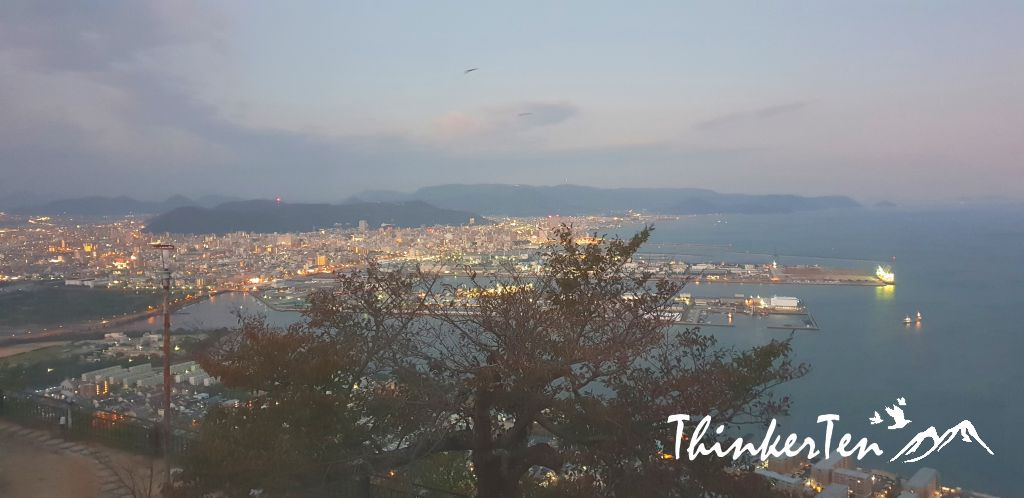 Shikoku Japan : Best sunset at Yashima, Takamatsu & Bokaiso Hotel Review