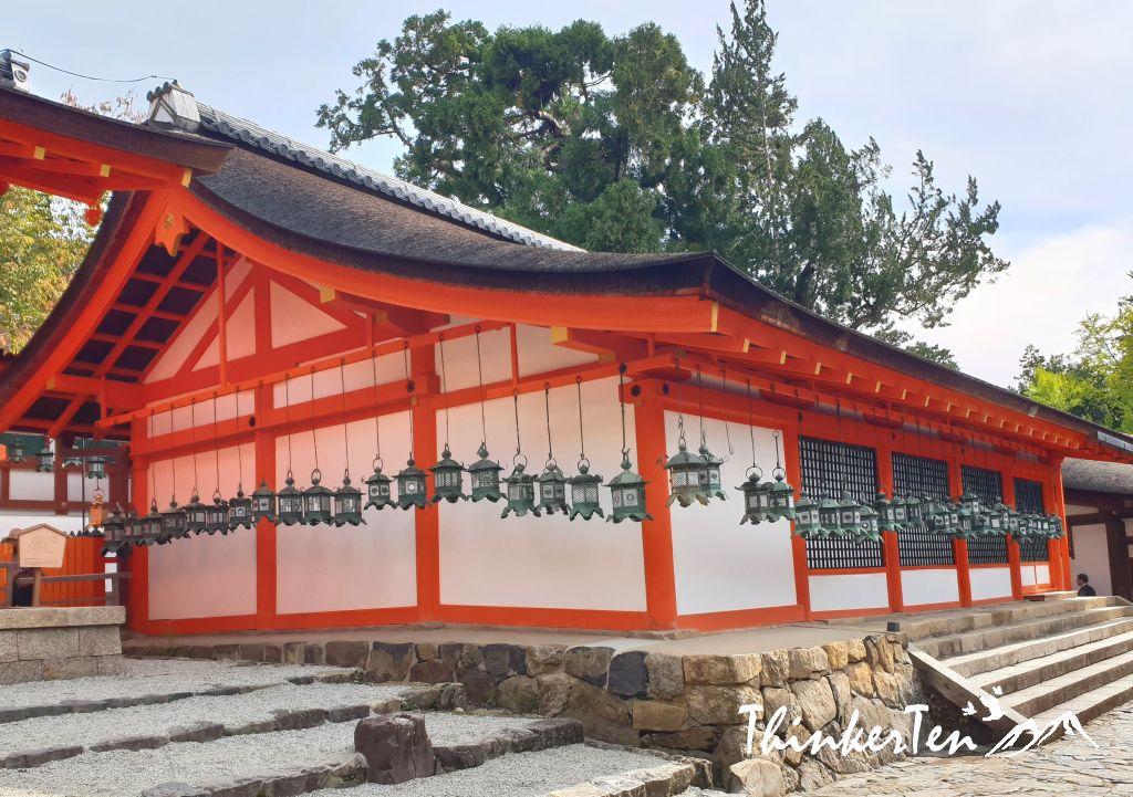 Kusaga Taisha Shrine, the thousand lanterns shrine in Nara