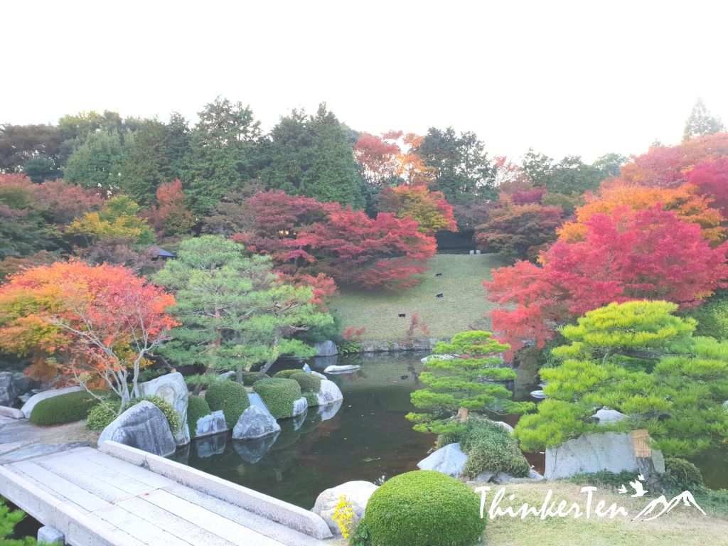 Autumn Color in Sankeien Garden @ Hiroshima Airport
