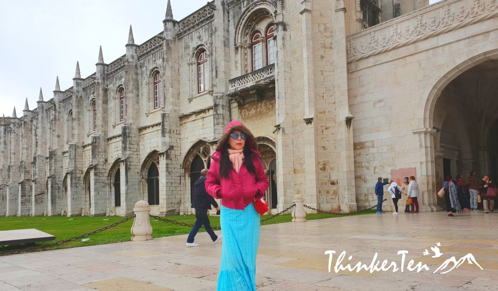 The most visited site at Lisbon Portugal - Jeronimos Monastery