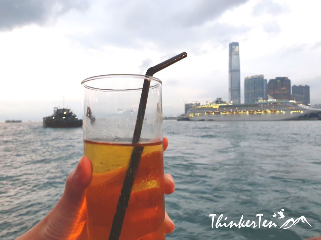 Best way to see Hong Kong Victoria Harbour with AquaLuna Red Junk Boat