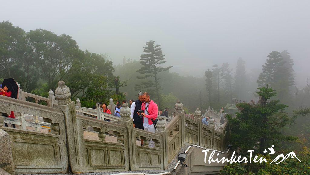 Hong Kong Lantau Island Big Buddha Tian Tan