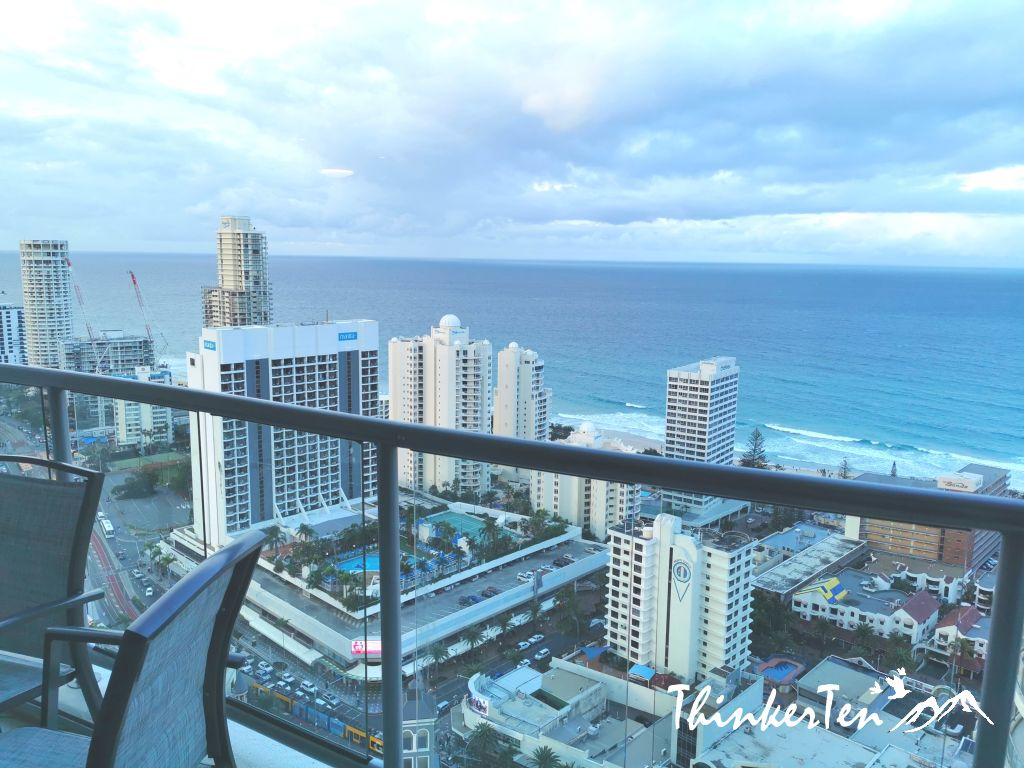 Where to stay in Gold Coast Queensland? Mantra Towers of Chevron Service Apartment Review