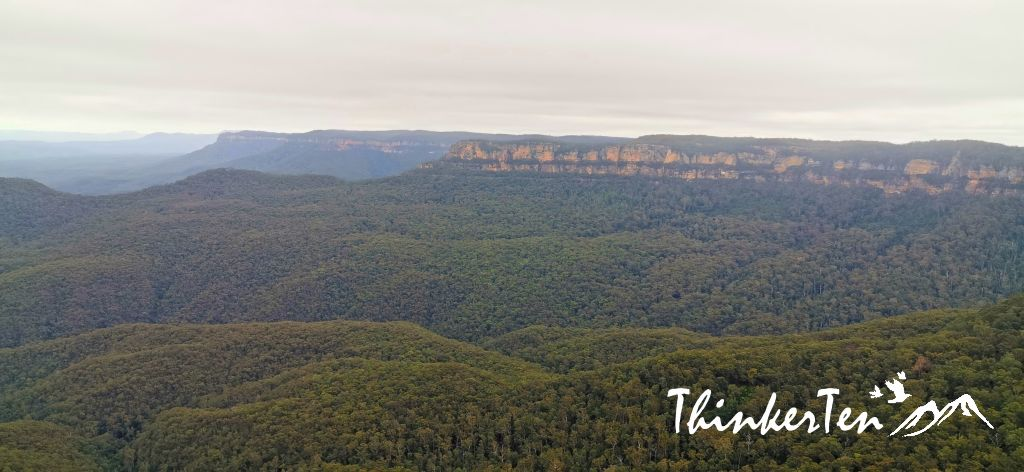 Blue Mountain,Echo Point, Three Sisters in Australia