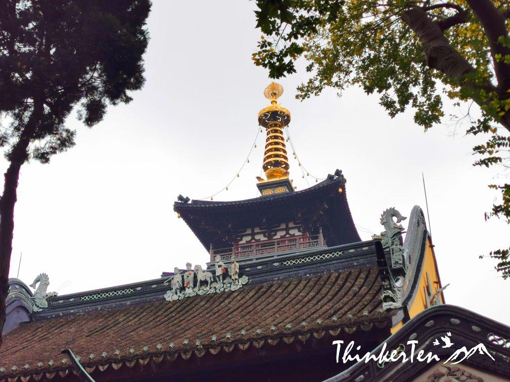 Hanshan Temple in Suzhou China 苏州寒山寺