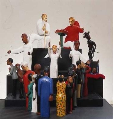 Figurines by Johannes Segogela