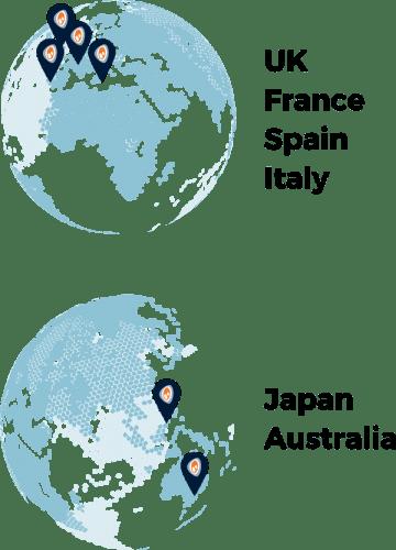 IAC Locations small world maps fide (1)