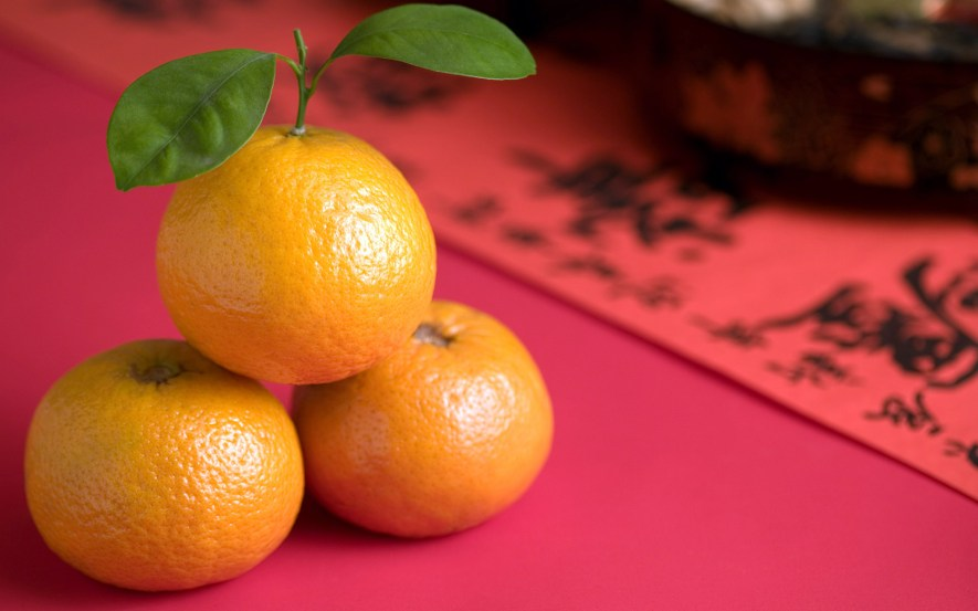 Image result for chinese new year tangerines