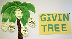 Customized Giving Tree