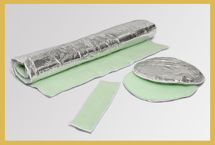 Recycled PET Geyser Blankets with Protective Silver Foil