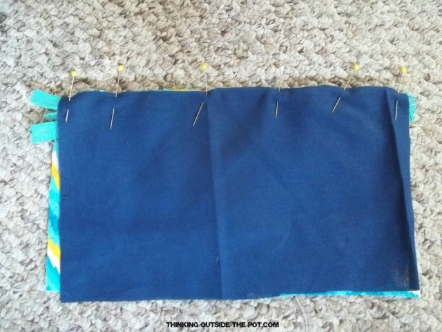DIY Back-to-School Pencil Bag - penniesintopearls.com - Follow these easy 4 steps to make your own DIY pencil bag. Get the kids back to school in style and on budget!