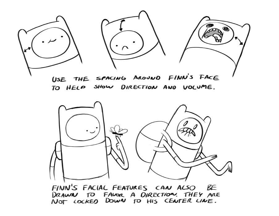 How To Draw Adventure Time Pendleton Ward Thinking