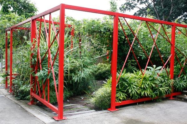 Web garden Hort Park copyright Jonathon Fothergill