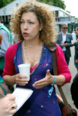 Alex Kingston copyright Charles Hawes