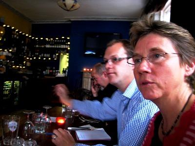 thinkingardens supper copyright Anne Wareham