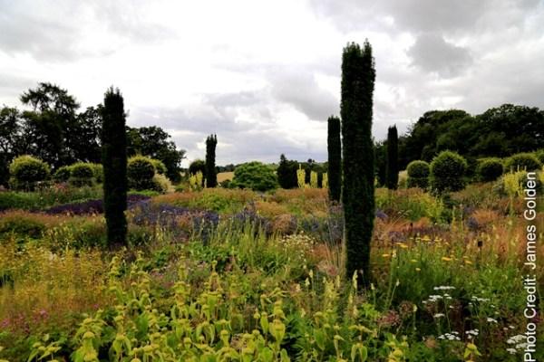 Plantings at Broughton Grange, designed by Tom-Stuart Smith. Copyright James Golden