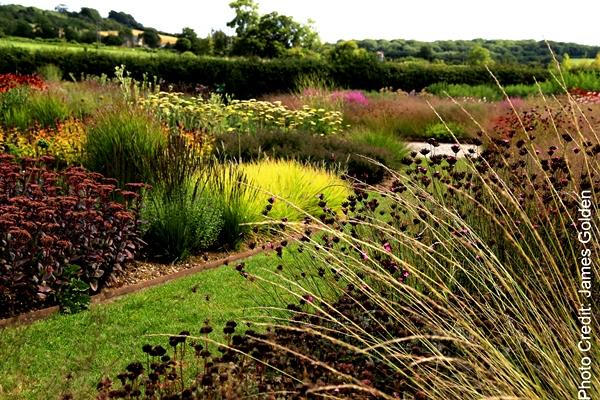 The Piet Oudolf-designed garden at Hauser & Wirth in Bruton, UK, Copyright James Golden