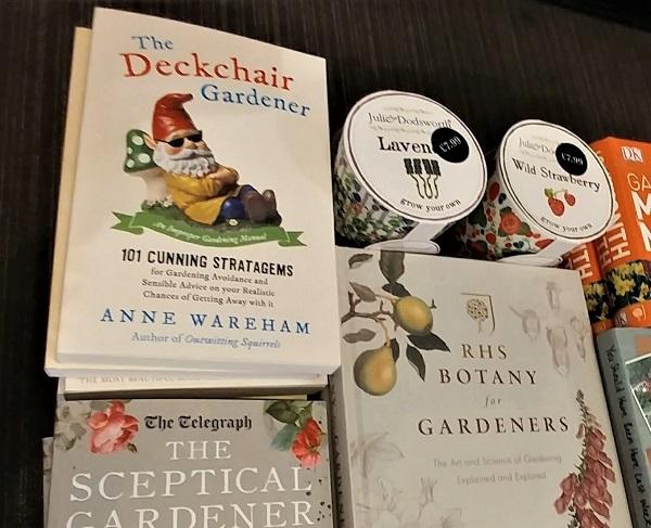 Deckchair Gardener by Anne Wareham