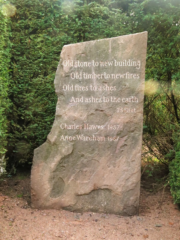 The Stone, Veddw, copyright Charles Hawes