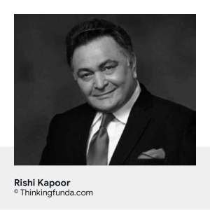 Tribute of Rishi Kapoor