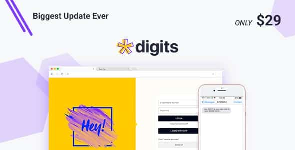 Digits 7342 Nulled Addons WordPress Mobile Number Signup