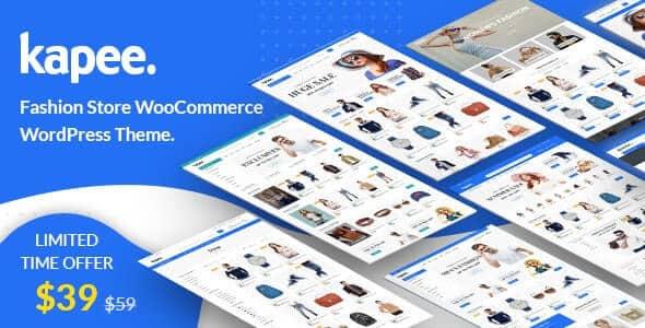 Kapee 1.3.5 Nulled - Fashion Store WooCommerce Theme