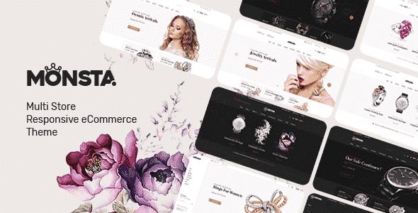 Monsta 107 Jewelry Theme for WooCommerce WordPress