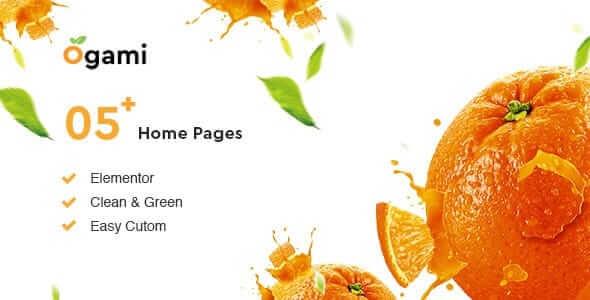 Ogami 125 Organic Store WordPress Theme
