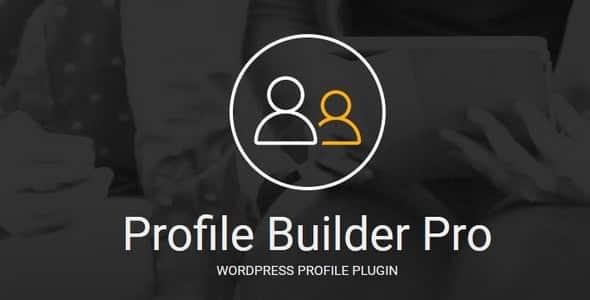 Profile Builder Pro 3.2.7 - Profile Plugin for WordPress